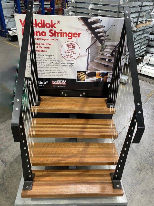 Dual Stair Stringer